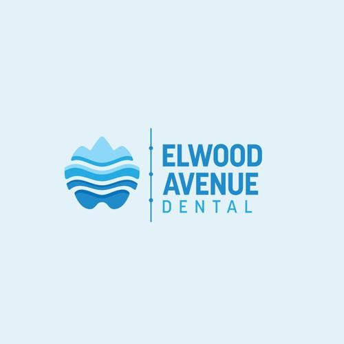 Orthodontist logo with the title 'Elwood Avenue Dental'