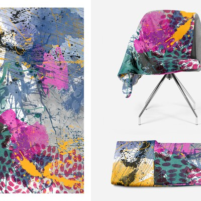 Fashion Statement Graphic Image For Fleece Blanket