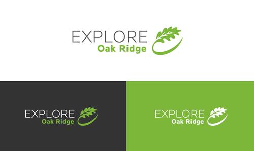 E logo with the title 'Explore Oak Ridge (TM) Logo'