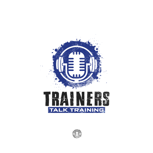 Training design with the title 'Logo design for Trainers Talk Training'