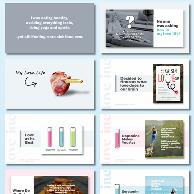 Trendy PowerPoint Template for a Keynote Speaker