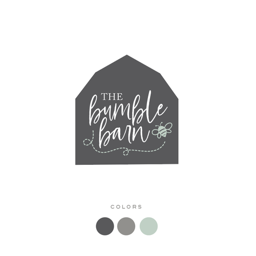 Farmhouse design with the title 'Design a clean and simple logo for a new kid's store!'