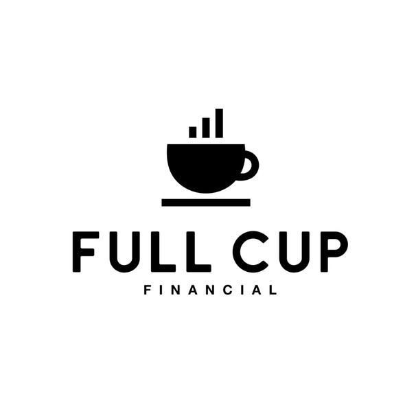 Cup brand with the title 'Design logo and brand for Full Cup Financial!'
