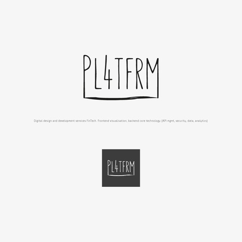 Spooky logo with the title 'PL4TFRM'
