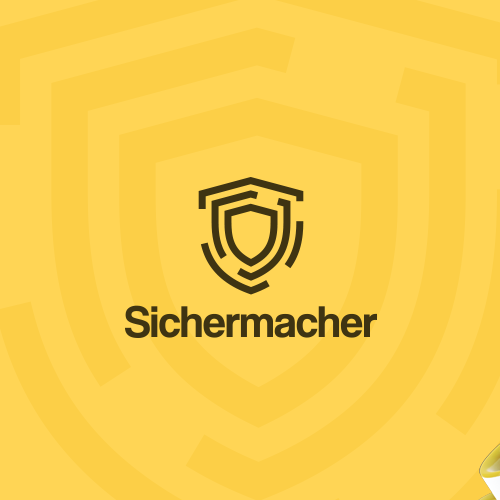Haven logo with the title 'Sichermacher'