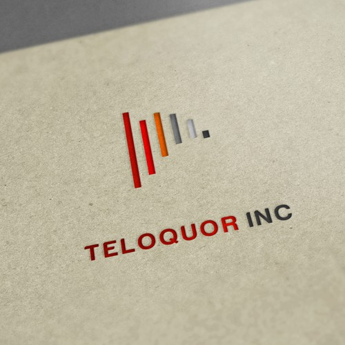 Telecommunications logo with the title 'Logo for telecom/wireless start up firm.'