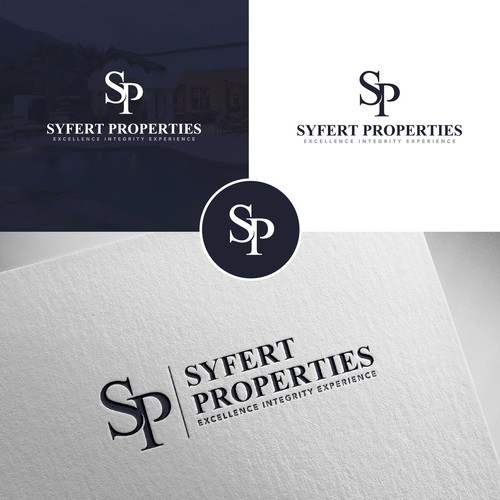 Commercial logo with the title 'Syfert Properties'