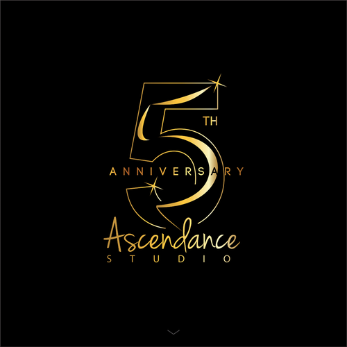 Anniversary t-shirt with the title '5th Anniversary Ascendance Studio'