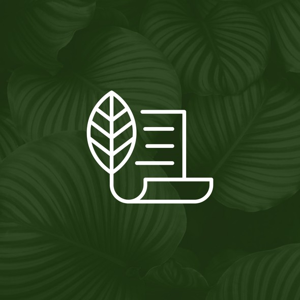 Paper brand with the title 'Master Herbalist - Custom Icon Design (SOLD)'