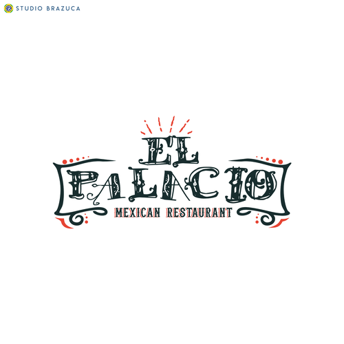 "Mexican logo with the title 'Concept for ""El Palacio""'"
