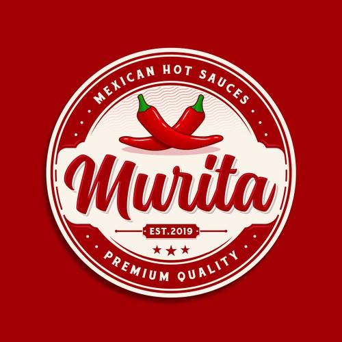 Vintage circle logo with the title 'Murita'