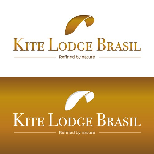 Hostel logo with the title 'Logo concept for kite lovers hostel '