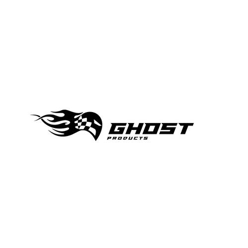 Flame logo with the title 'Ghost Products'