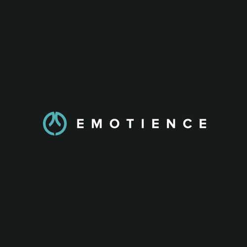 Clean and simple logo with the title 'Emotience Logo'