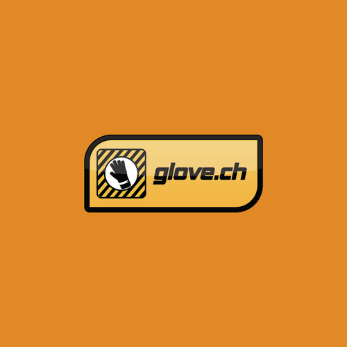 Glove logo with the title 'Glove Logo'