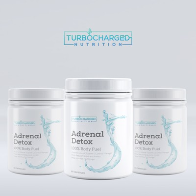 Label design for Adrenal Detox