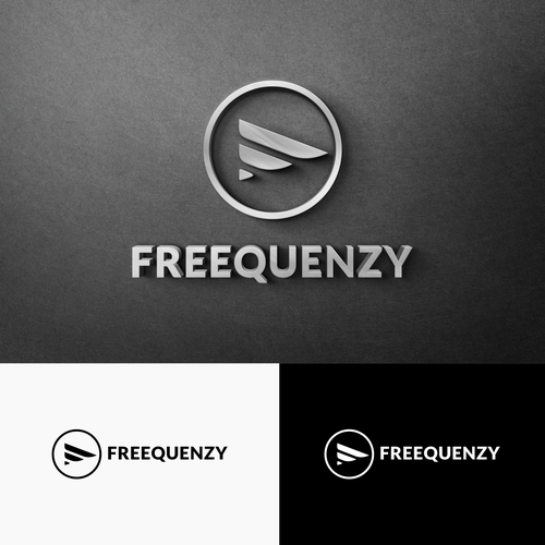 Inkscape design with the title 'freequenzy logo'