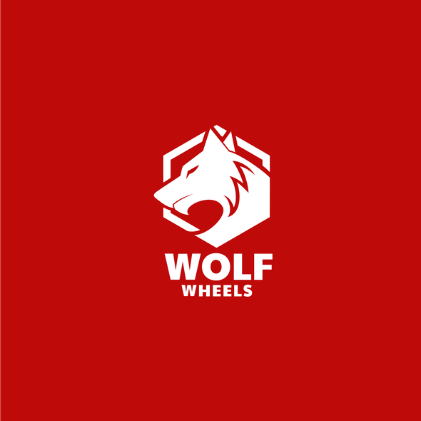 Wolf logo with the title 'Wolf Wheels'