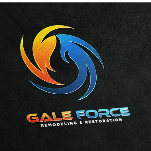 Four elements logo with the title 'Gale Force'