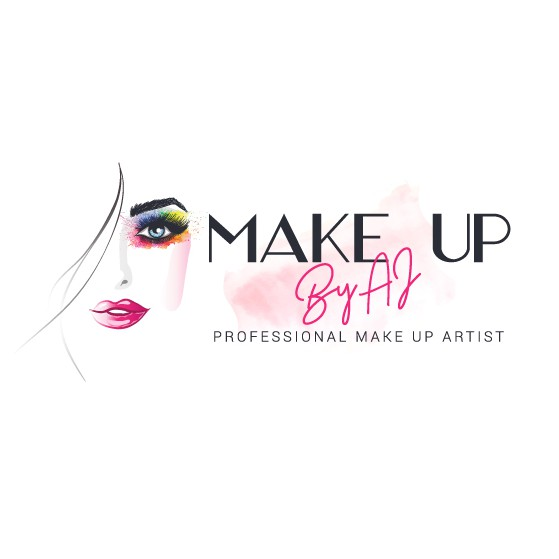 Lipstick logo with the title 'Make up'