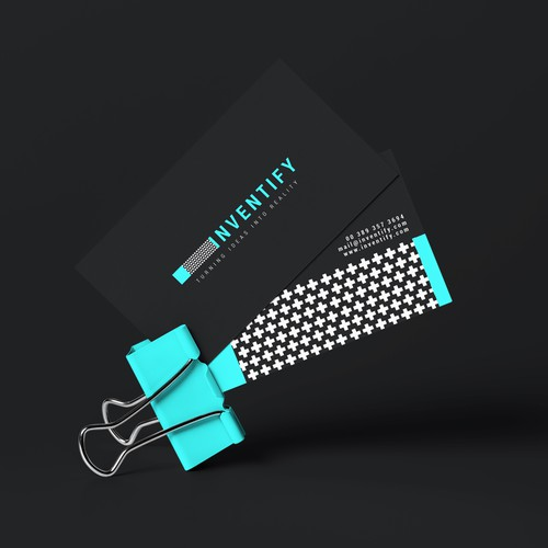 Plus design with the title 'Branding for Inventify'