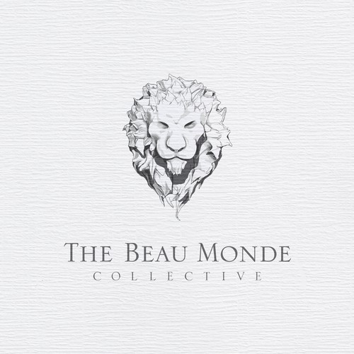 High-end logo with the title 'The Beau Monde'