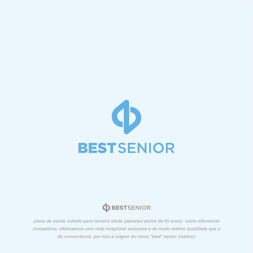 Senior design with the title 'Best Senior'