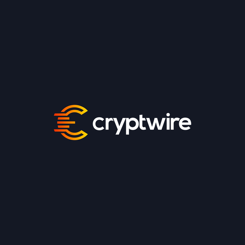 Ethereum logo with the title 'Cryptwire logo | Apps logo | Candlestick Logo | Chart logo | Crypto Logo | Crypto Currency Logo | Monogram Logo | Modern Logo'