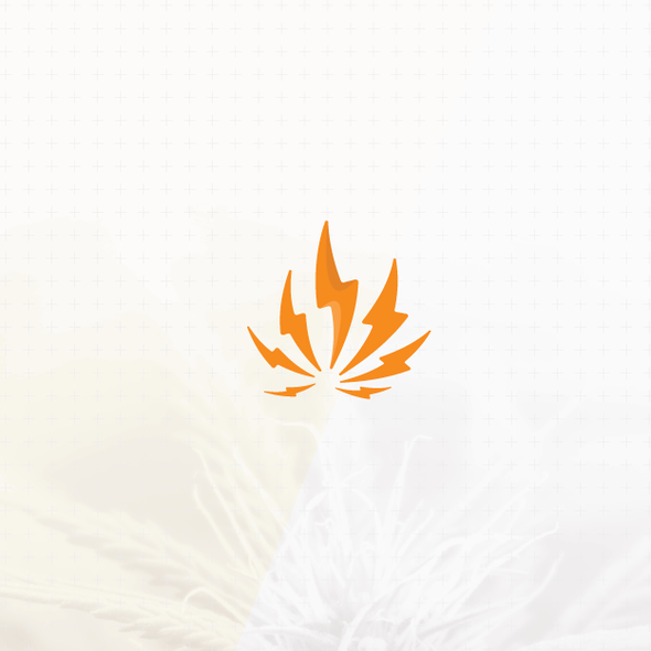 Marijuana brand with the title 'Modern & flashy logo design'
