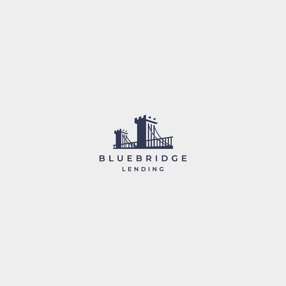 Company logo with the title 'BlueBridge'