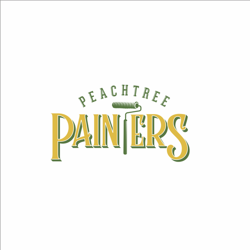 Roller design with the title 'PeachTree Painter'