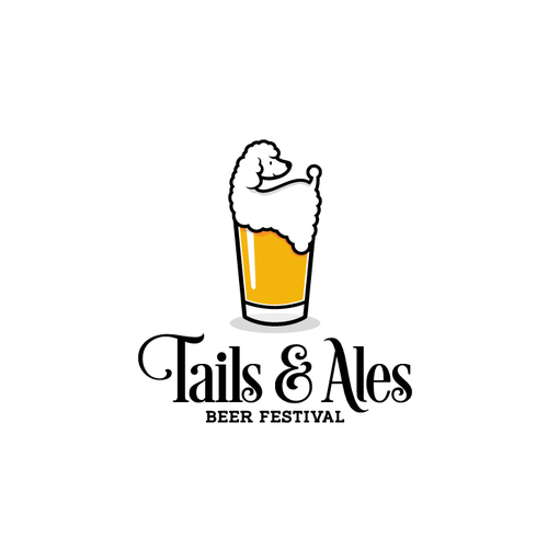 Toon logo with the title 'Dog & Beer Festival'
