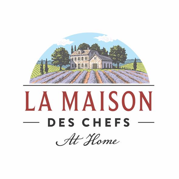 French logo with the title 'La Maison des Chefs'