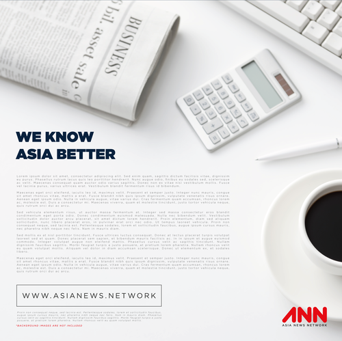 Sync logo with the title 'Logo Design for Asia News Network'