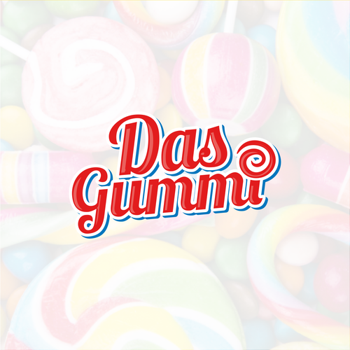 Caramel logo with the title 'Das Gummi'