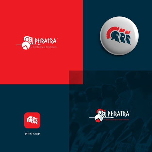 Community design with the title 'Spartan logo design'