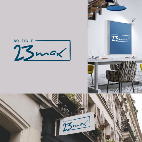 French logo with the title 'Boutique: 23 MAX'