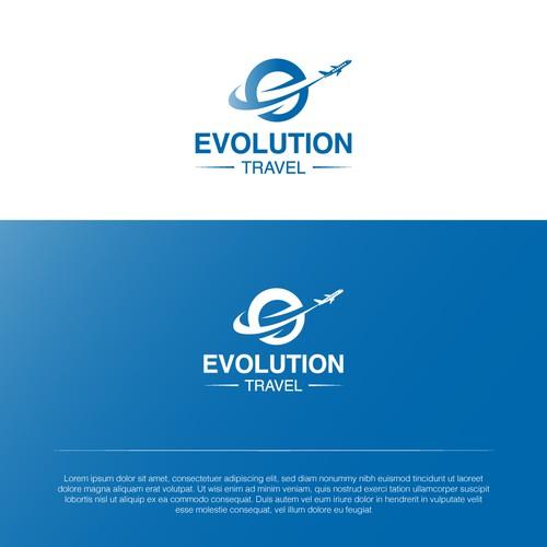 Evolution logo with the title 'Evolution logo'