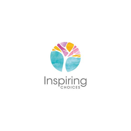 Holistic logo with the title 'Inspiring Choices logo'