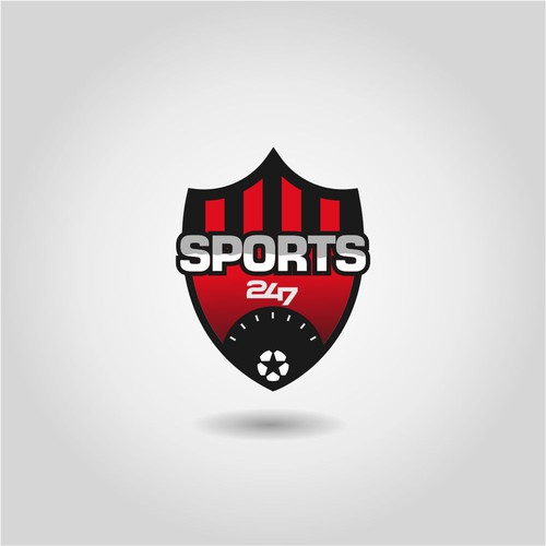 Import-export logo with the title 'Esport Logo'