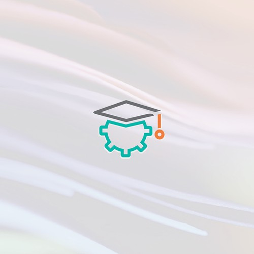 System design with the title 'Simple, elegant & Iconic Logo for SchoolSystms'