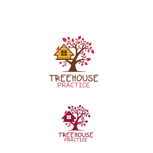 Tree house design with the title 'Treehouse'