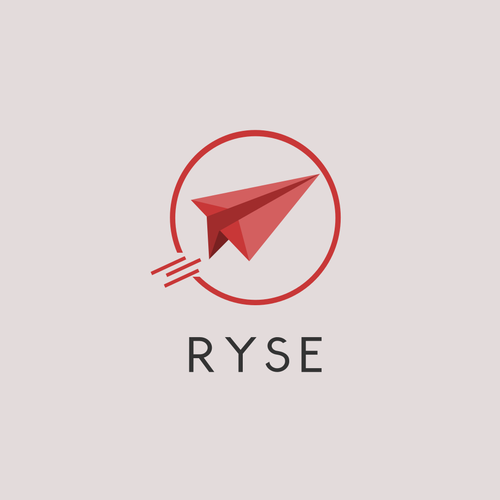 Rise design with the title 'Beautiful Logo'