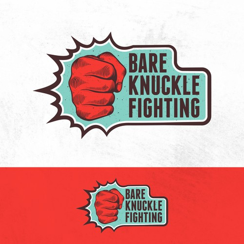 Fight logo with the title 'Bare Knuckle Fighting'