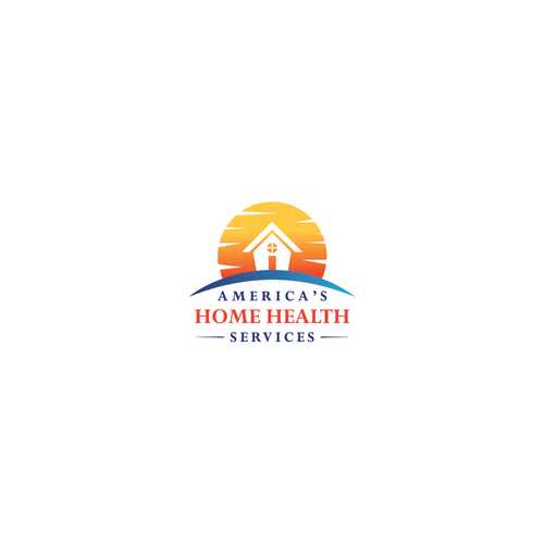 Home service logo with the title 'America's Home Health Services'