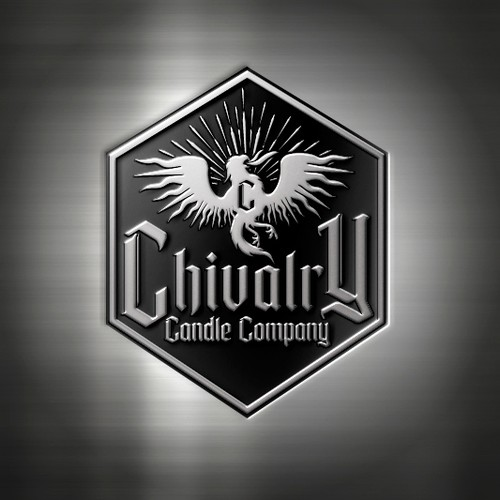 Phoenix design with the title 'Candel Company Logo'