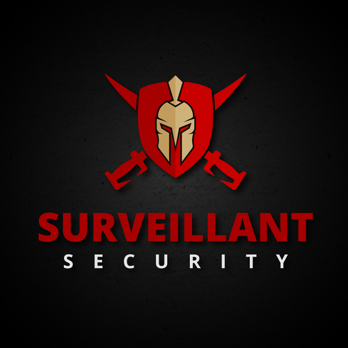 """Privacy logo with the title 'Bold logo for """"SURVEILLANT SECURITY"""".'"""