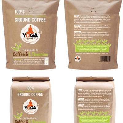 Craft Paper Ground Coffee