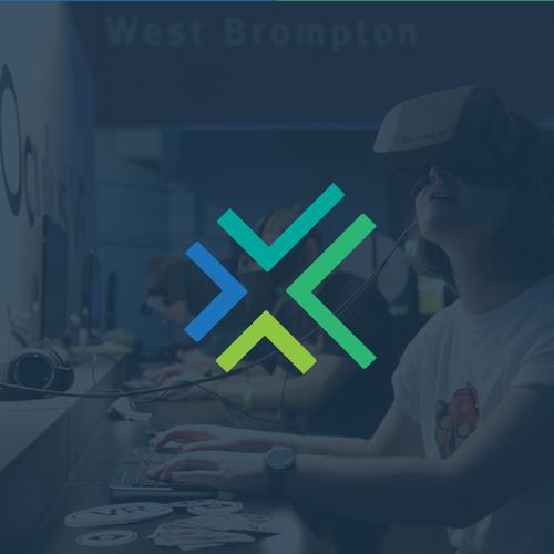 VR design with the title 'Virtualcade'