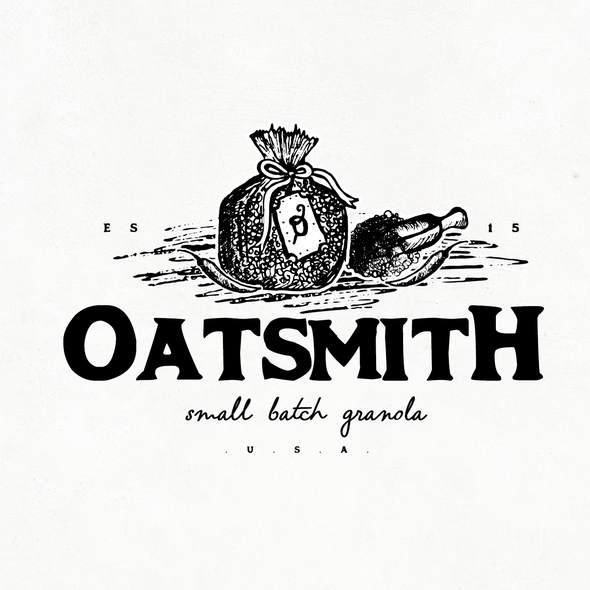 Scope design with the title 'OATSMITH'